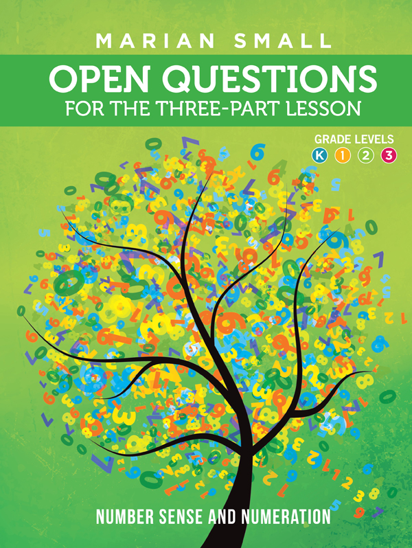 Open Questions Number Sense And Numeration Grades K3 Ontario