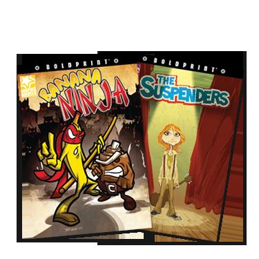 BOLDPRINT Graphic Novels